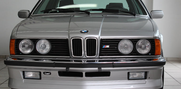 Youngtimer BMW Front